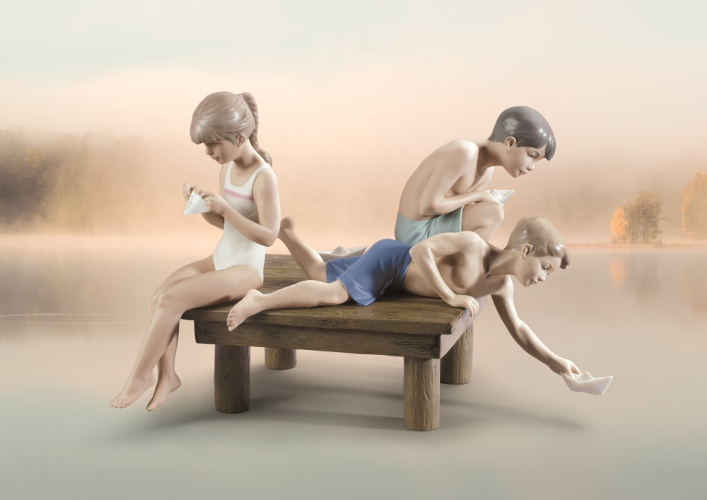 Decor - Consider including lladro porcelain figurines home decoration ...